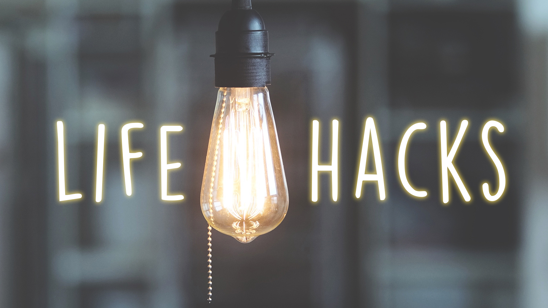 Journey news life hacks sermon series for 9 kitchen life hacks